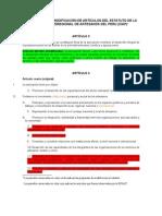 Propuestas de Modificacion Estatuto Ciap[1]