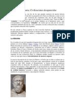 Atlántida y Lemuria-Civilizaciones desaparecidas