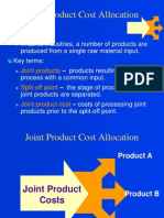 Ch 09 Joint Cost Allocations