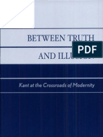 Cicovacki 2002 Between Truth and Illusion_Kant at the Crossroads of Modernity