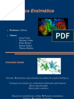 Catalise enzimatica