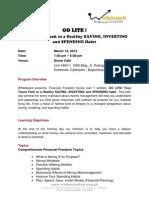 GO LITE Primer_Financial Freedom Series 1_March 14, 2013
