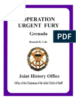 Operation Urgent Fury Grenada