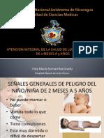 Atencion integral de la salud de los niños 0-5 años