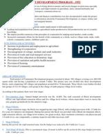 Rural Development Programs in India