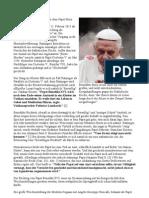 Die Weltpolitischen Ziele Hinter Dem Papst
