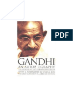Autobiography of M[1].K. Gandhi