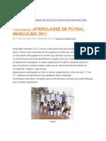 Torneio Interclasse de Futsal Masculino 2011