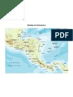 Montañas de Centroamerica