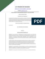 Ley Organica de Aduanas Vigente