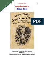 Basho, Matsuo - Sendas de Oku (Poemas Zen)