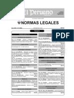 El Peruano Diario Oficial 2009 - Feb