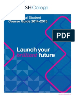 Monash College International Student Course Guide 2014-2015