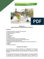 Modulo 3. Higiene Ambiental en La Manipulacion de Alimentos