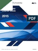 Monash University Postgraduate Course Guide 2015