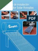 Instalacion de Calentador Solar