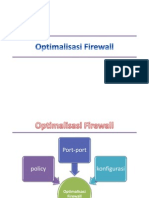 Optimalisasi Firewall