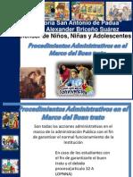 Procedimientos Administrativos en El Marco Del Buen Trato