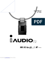 Cowon iAudio T2 User's Manual