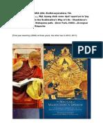 BODHICHARYAVATARA 2008, Bir - Dzongsar Jamyang Khyentse Rinpoche