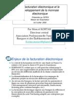 Le Developpement de La Monnaie Electroniquedans Btob