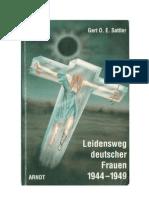 Sattler.gert-Leidensweg Deutscher Frauen 1944-1949