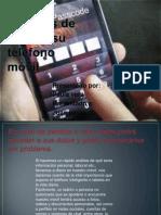 Cinco maneras de blindar su teléfono móvil