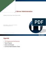 Team Foundation Server Administration