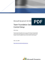 Team Foundation Server Version Control Setup Whitepaper for Microsoft Dynamics AX 2009