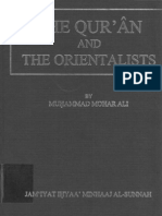The Quran and Orientalists