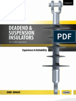 22 Dead-end & suspension insulators