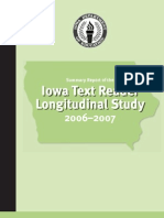 Iowa Text Reader Study Report