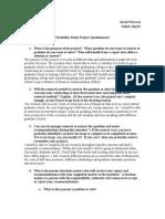 Peterson Sarah Feasibility Report Questionnaire