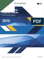 Monash University Postgraduate Course Guide 2015 For International Students