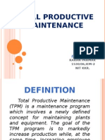 Total Productive Maintenance_pnkj