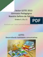 Plan Lector LEITO 2013 Leo