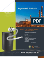 Fogmaster Products Brochure