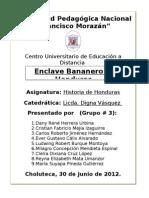 Informe (Enclave Bananero en Honduras)