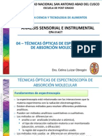 04-Tecnicas Opticas de Espectroscopia- CTA