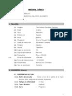 Historia Clinica Medica