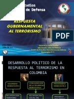 Respuesta Gubernamental Alterrorismo