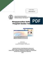 Mengoperasikan Software Pengolah Gambar Vektor