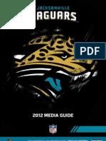 2012 Jacksonville Jaguars Media Guide