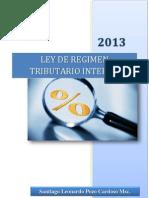Ley de Régimen Tributario Interno Ecuador 2013