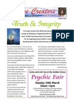 Divine Creators Newsletter - March 2013