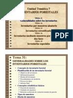 Tema 31. Inventarios Forestales