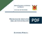 Area Economia Publica