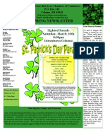 Spring 2013 Newsletter  - Coloma Watervliet Area Chamber of Commerce