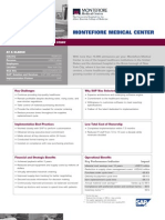 Montefiore Medical Center Business Transformation Study