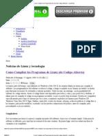 Como Compilar Los Programas de Linux (de Codigo Abierto) - LinuxParty